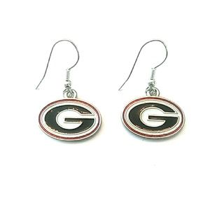 Licensed Georgia Bulldogs Earrings